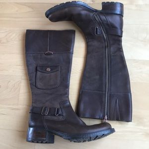 Timberland dress high boots with zip size 6